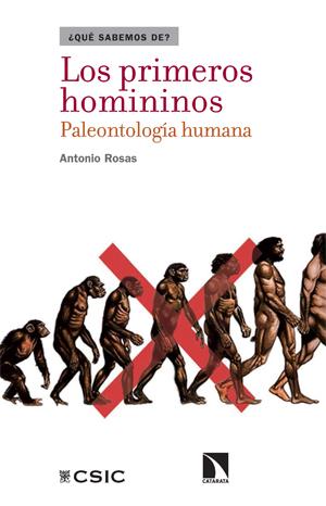 Portada Los primeros homininos. Paleontología humana