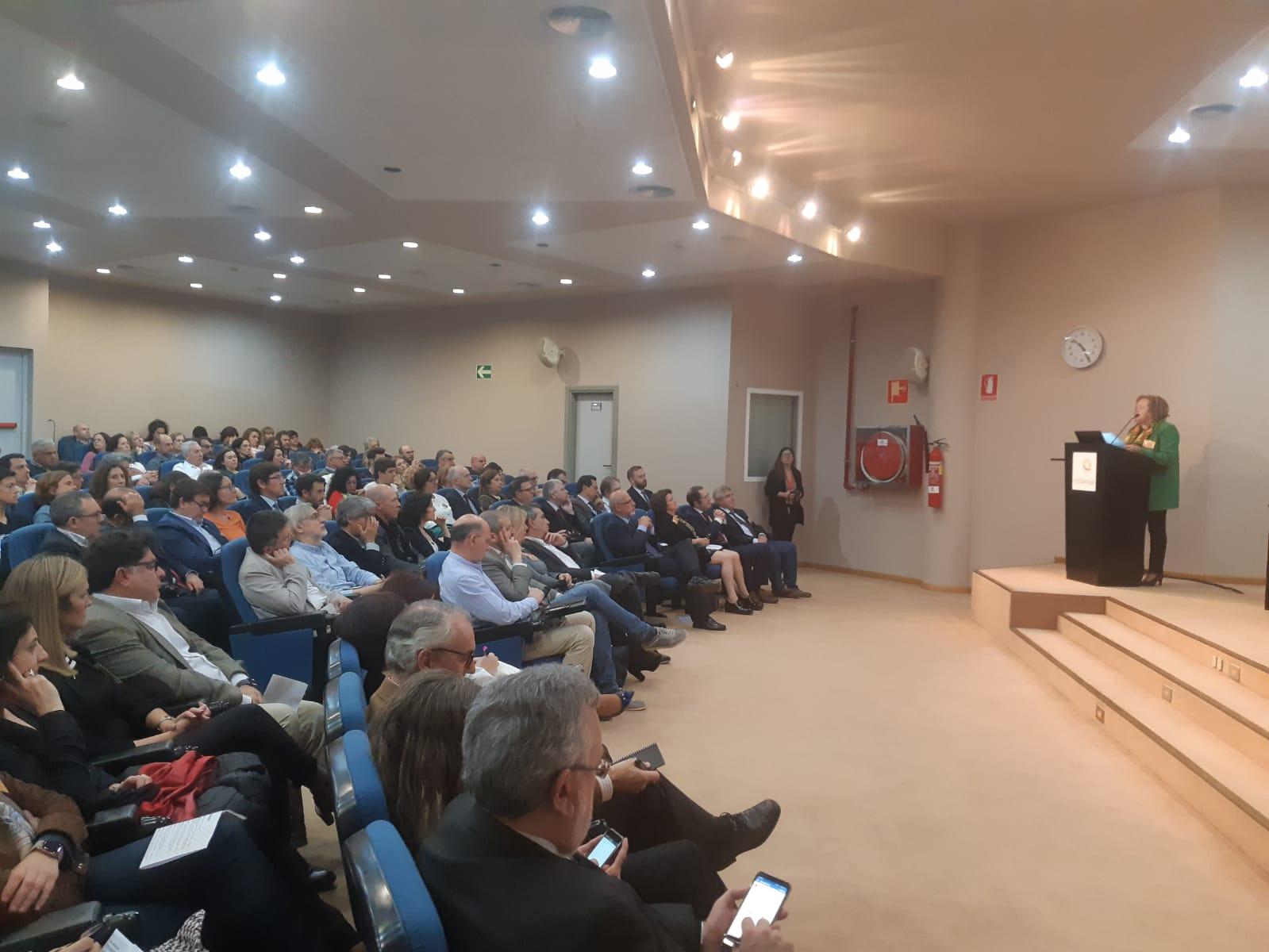 imagen de La presidenta del CSIC, durante la inauguración de la jornada./ DELEGACIÓN DEL CSIC EN ANDALUCÍA