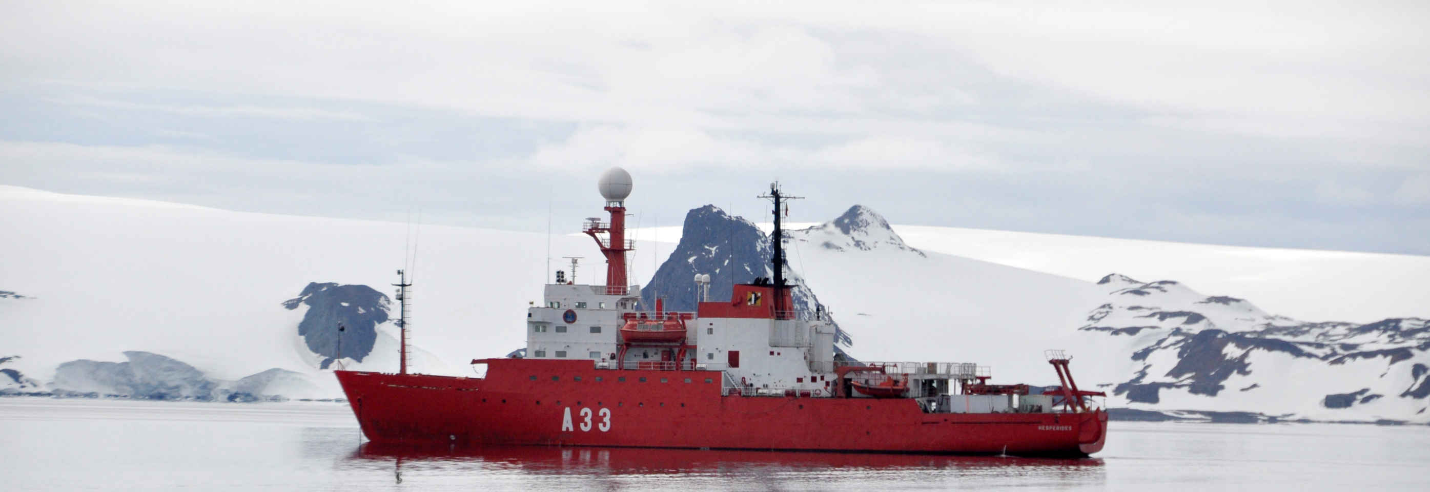 The Oceanographic Research Vessel Hespérides
