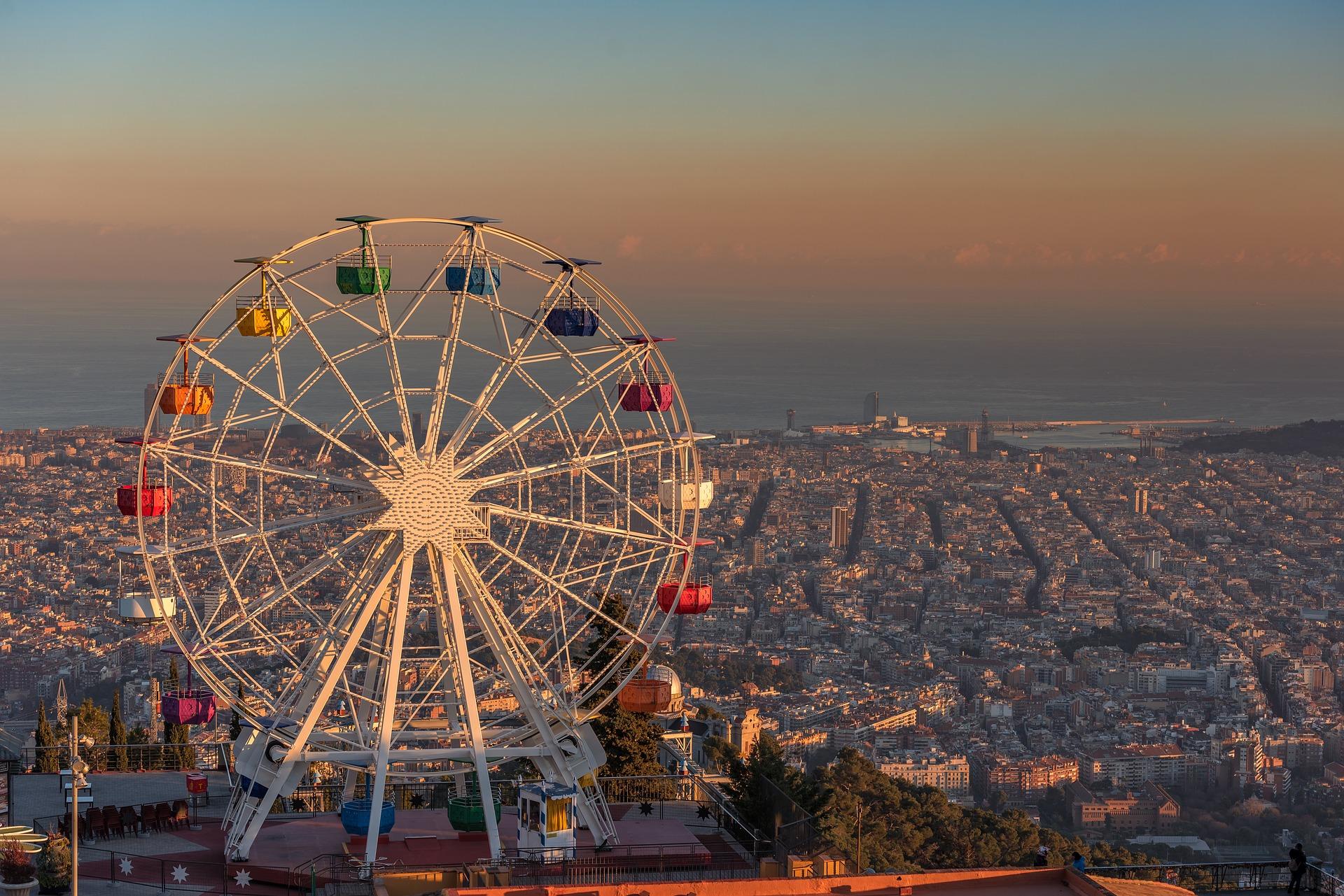 imagen de Capa de polución sobre la ciudad de Barcelona. Foto: Pixabay