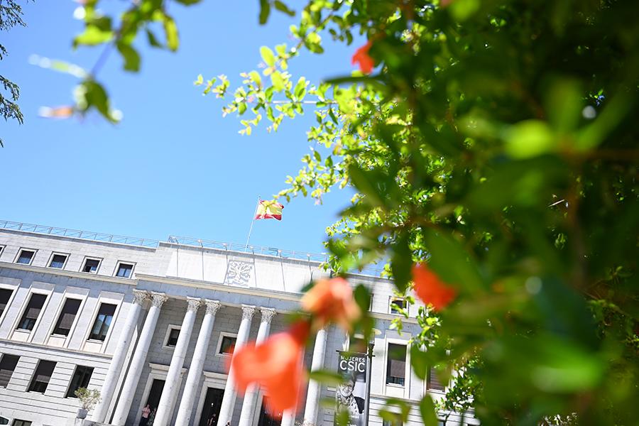 imagen de Fachada de la sede central del CSIC.