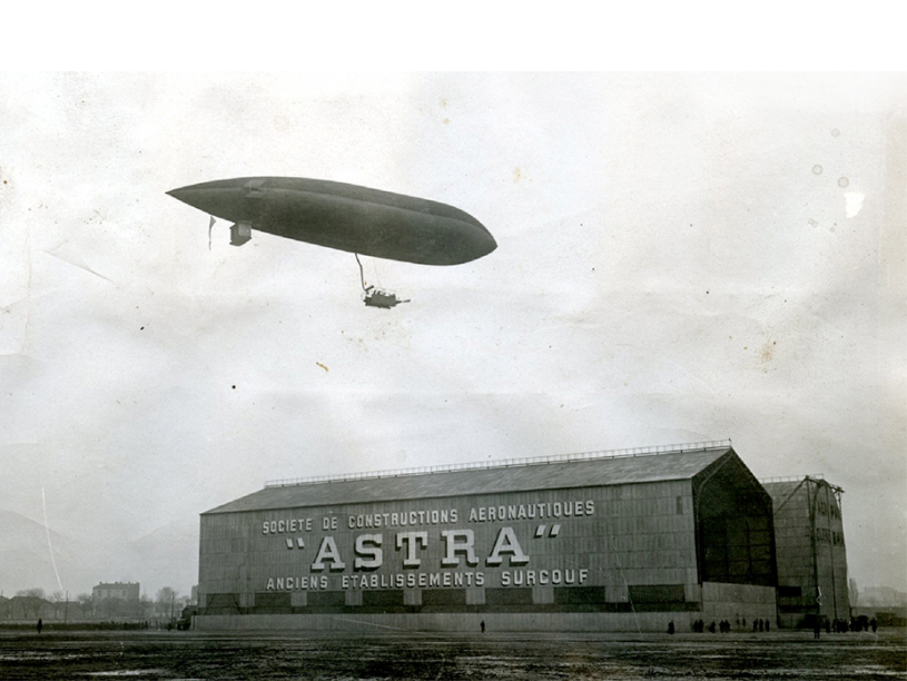 Imagen del dirigible Astra-Torres