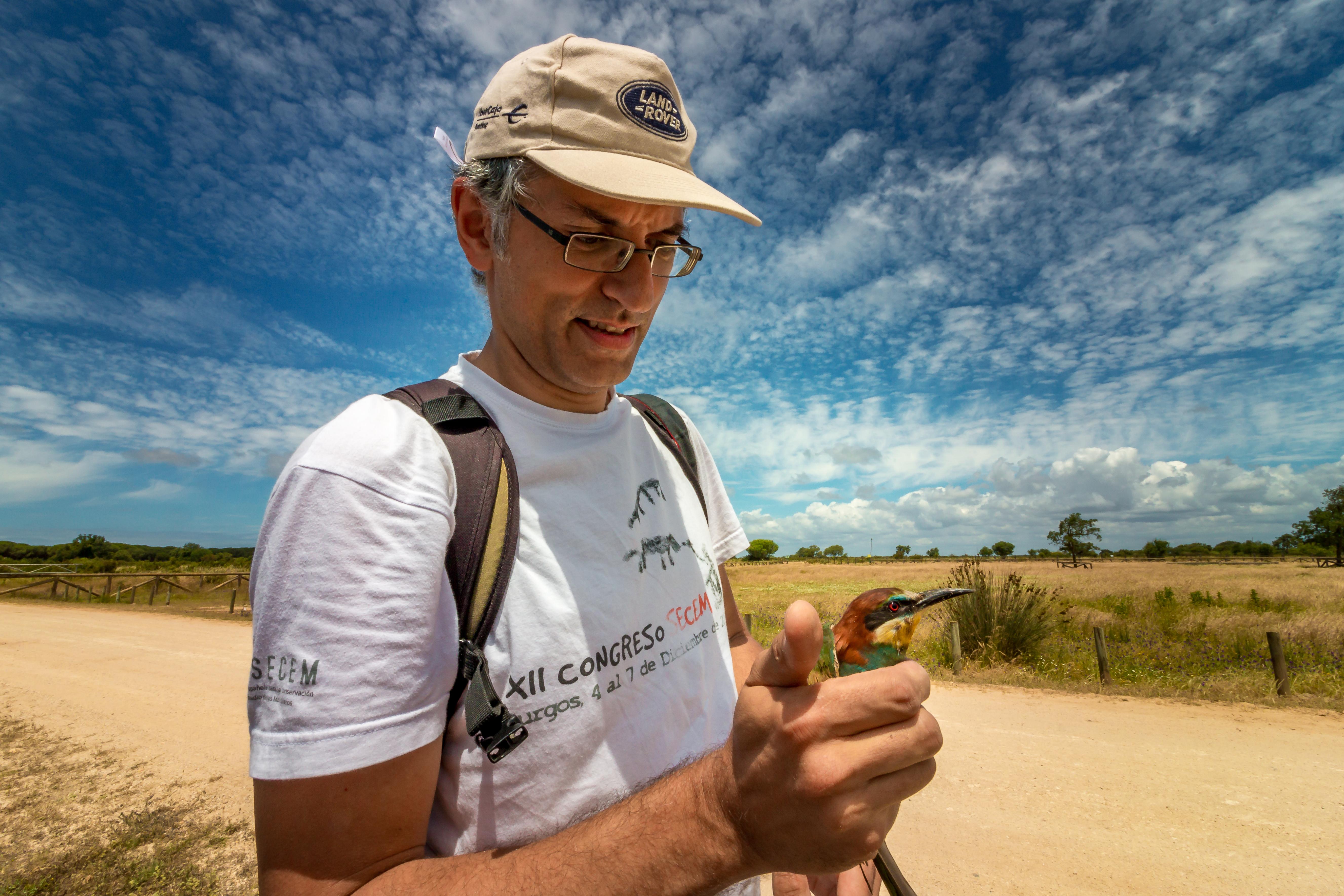 imagen de El nuevo director de la Estación Biológica de Doñana, Eloy Revilla. / Erika López-CSIC Comunicación