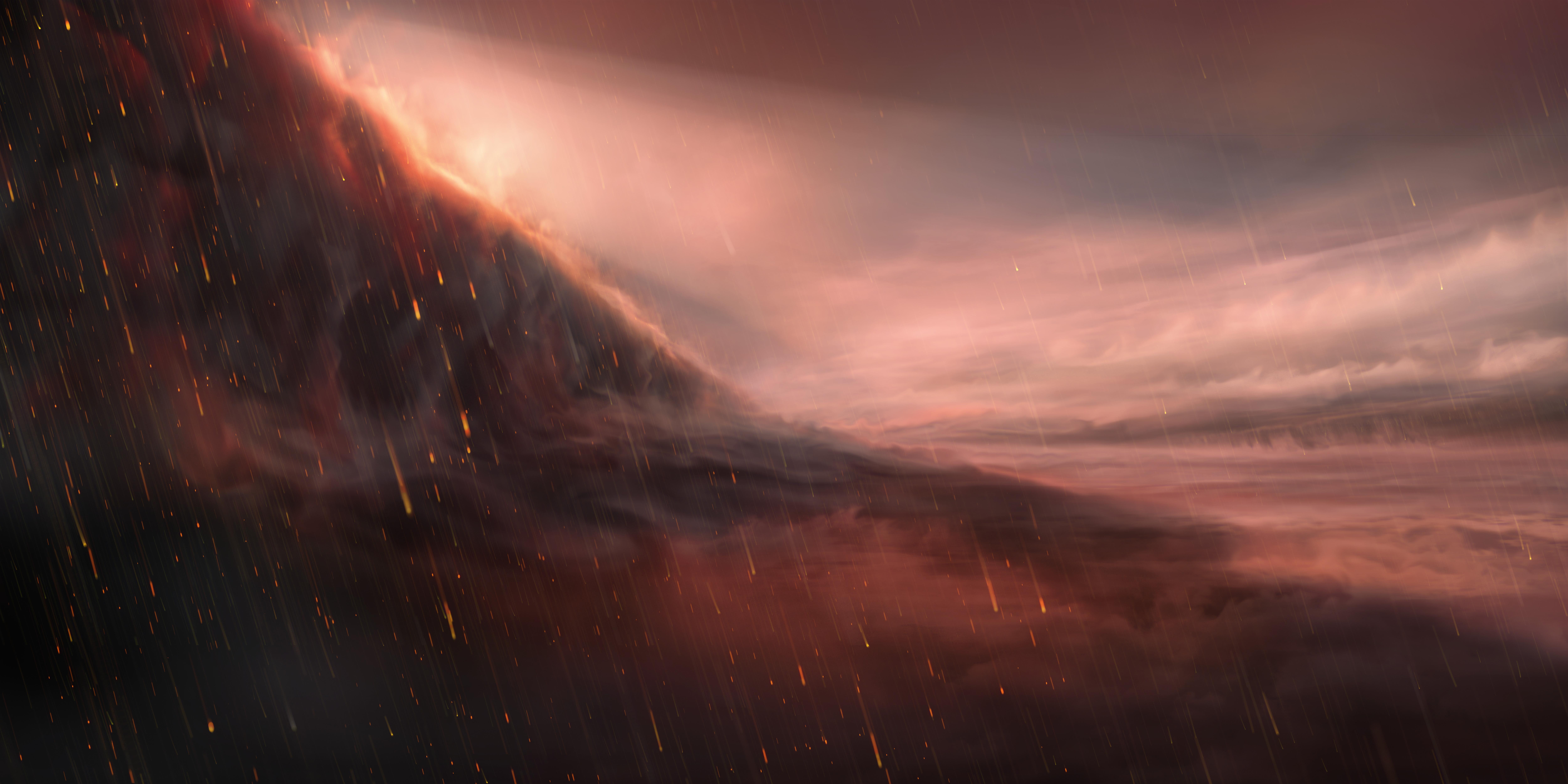 imagen de Impresión artística de la atmósfera del planeta WASP-76b. / ESO
