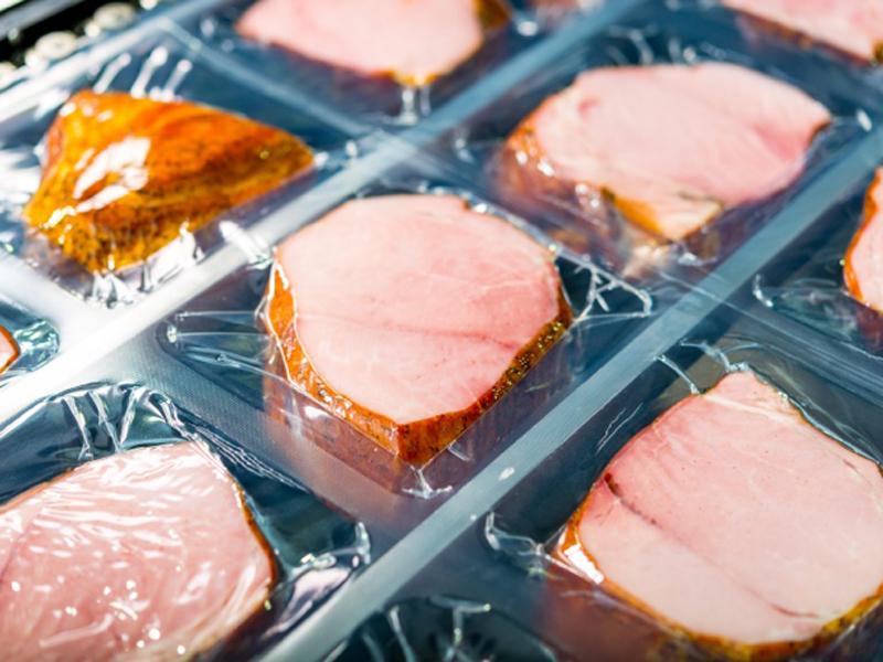 imagen de Carne envasada en plástico. / Foto: Encapsulae