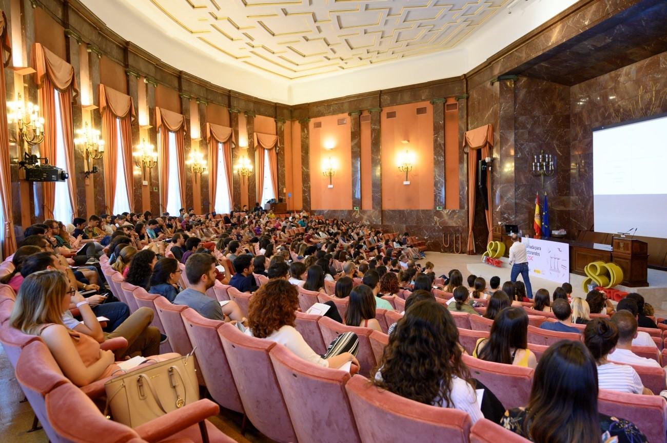 imagen de Celebración de la I Jornada para doctorandos del CSIC. / Yaiza González/ Comunicación CSIC