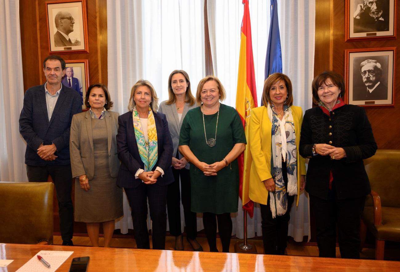 imagen de La reunión del CSIC con representantes de la industria farmacéutica. / César Hernández