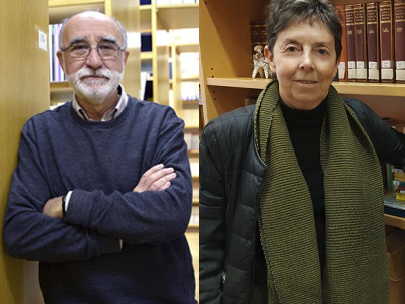 imagen de Los investigadores José López Carrascosa y Pilar García Mouton, del Consejo Superior de Investigaciones Científicas (CSIC),