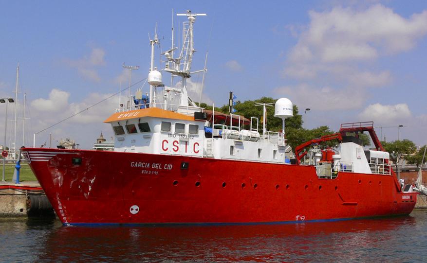Buque Oceanográfico García del Cid