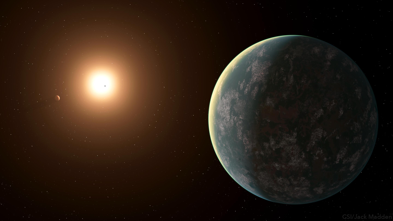 imagen de El trío planetario./ NASA/ JACK MADDEN