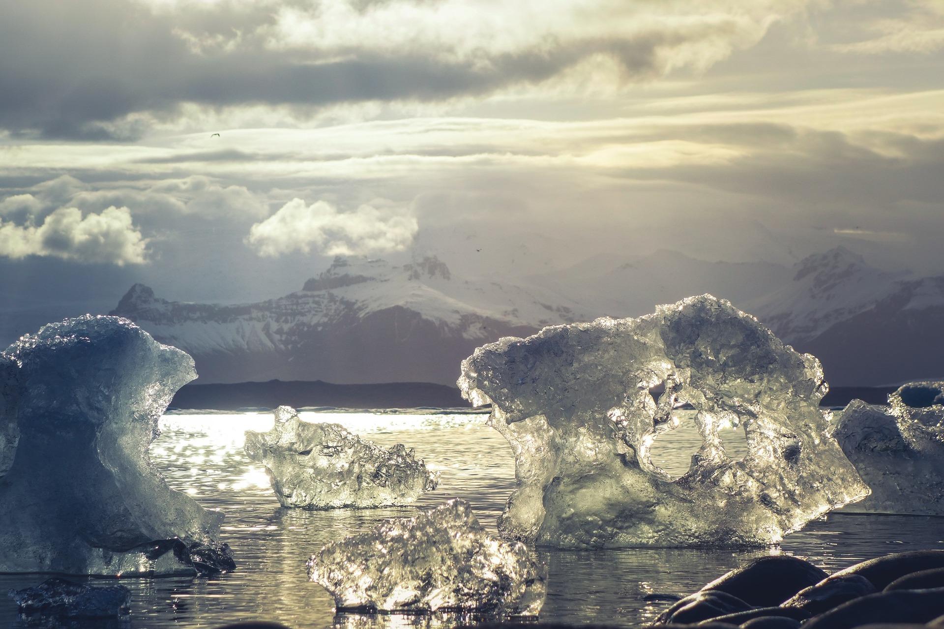 imagen de El Ártico es un medidor del avance del cambio climático. Foto: Pixabay