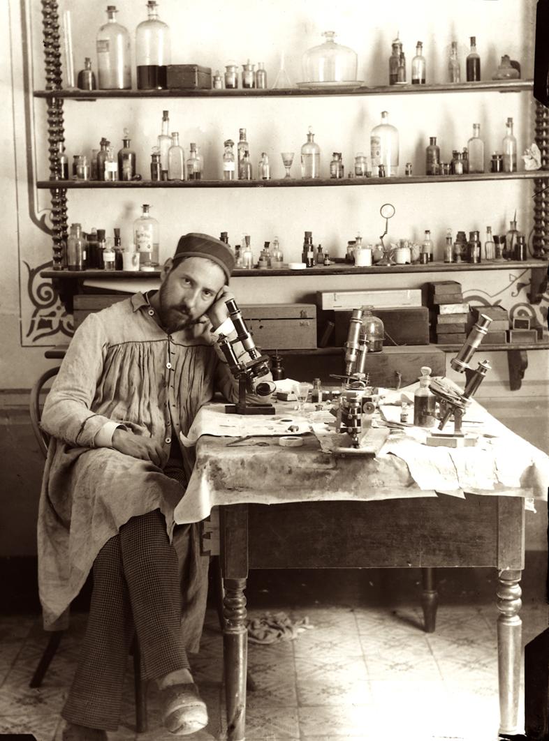 Autorretrato Ramón y Cajal 1