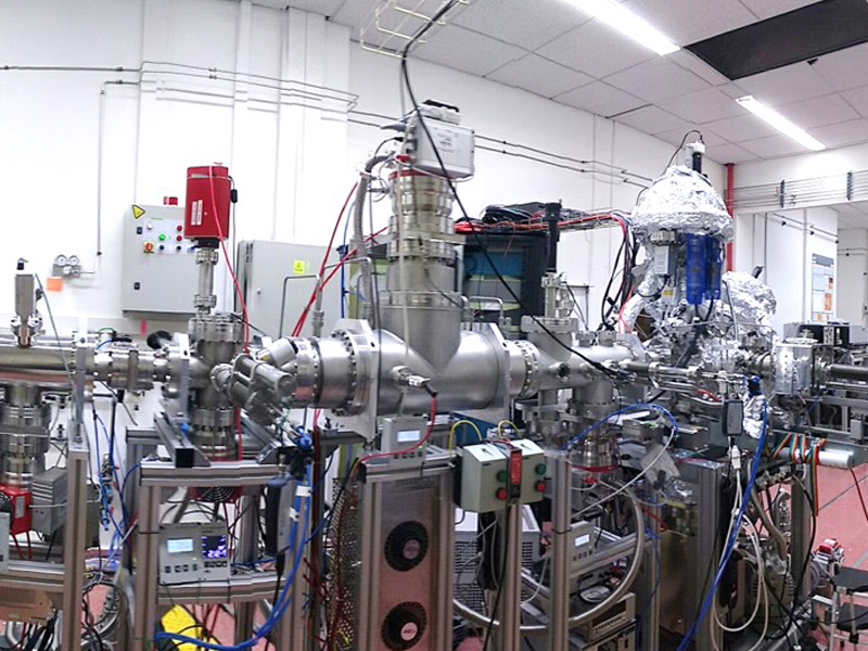 imagen de Máquina Stardust del proyecto Nanocosmos ERC, construida en el ICMM-CSIC.