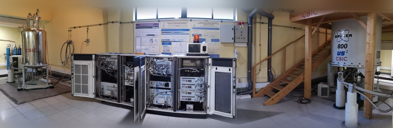 Manuel Rico Nuclear Magnetic Resonance (NMR) Spectroscopy Laboratory