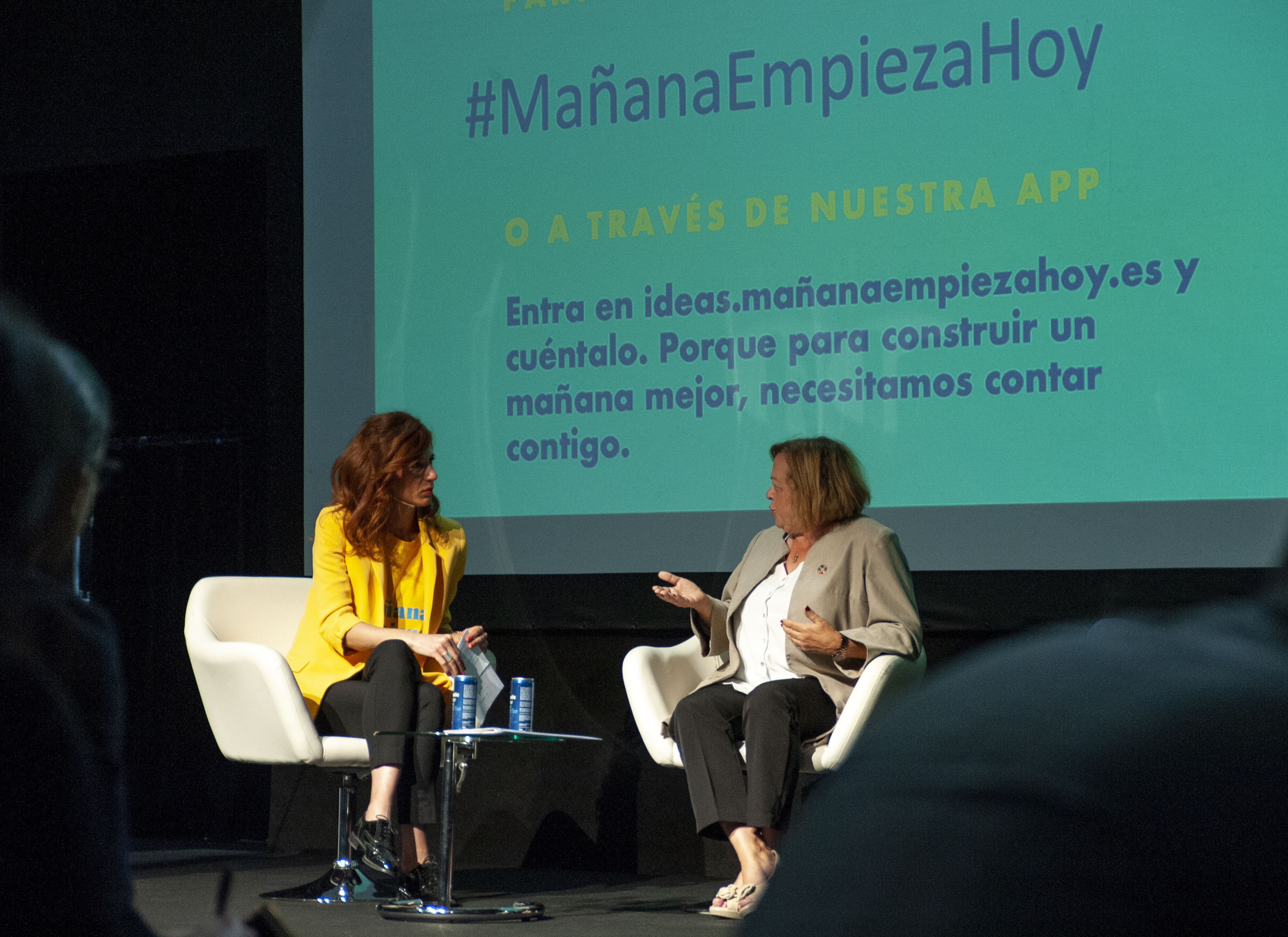 imagen de La presidenta del CSIC, Rosa Menéndez, durante el acto en IFEMA. / Yaiza González / CSIC Comunicación