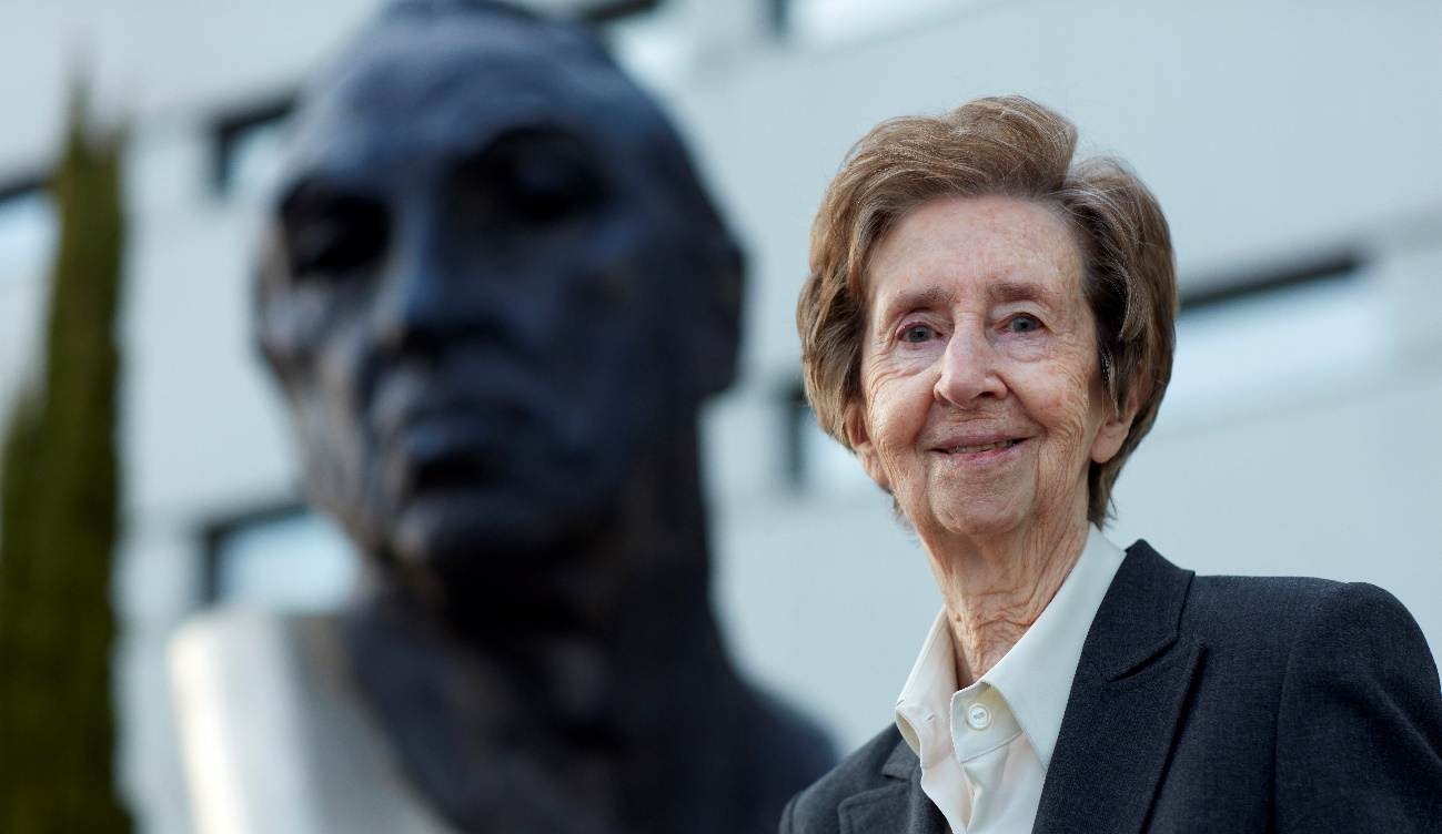 imagen de La investigadora Margarita Salas, Premio Inventor Europeo 2019. / EUROPEAN PATENT OFFICE