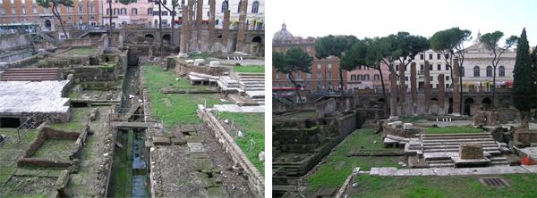 imagen de Área arqueológica de Torre Argentina en Roma./ Antonio Monterroso/ CSIC