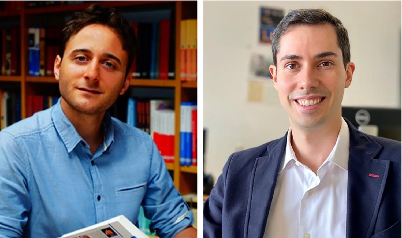 imagen de A la izquierda, Gonzalo Prieto, del ITQ, y a la derecha, Alberto Enciso, del ICMAT./ CSIC/ LAURA MORENO