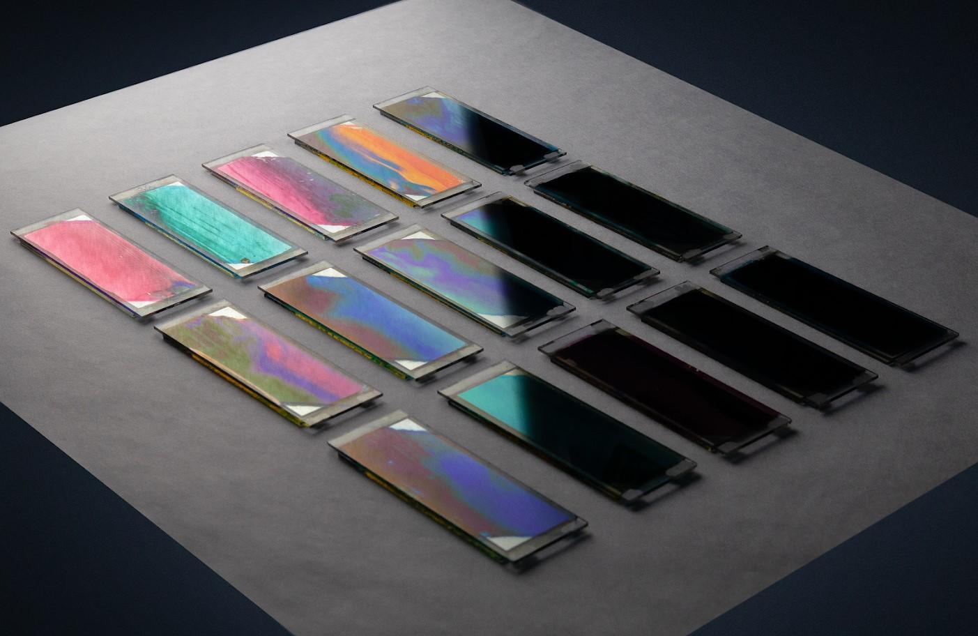 imagen de Muestras de células solares orgánicas basadas en gradientes. / ICMAB