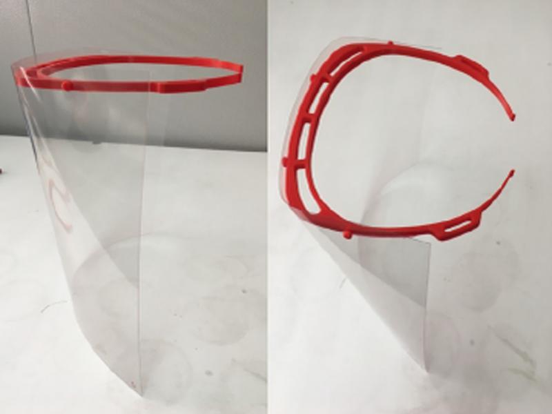 imagen de Pantallas de protección facial elaboradas con impresión 3D. / ICTP-CSIC