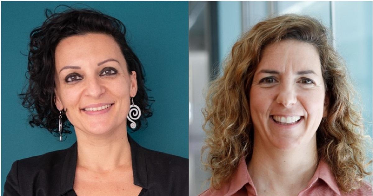 imagen de A la izquierda, Nanda Rea, y a la derecha, Guillermina López-Bendito./ FBSabadell