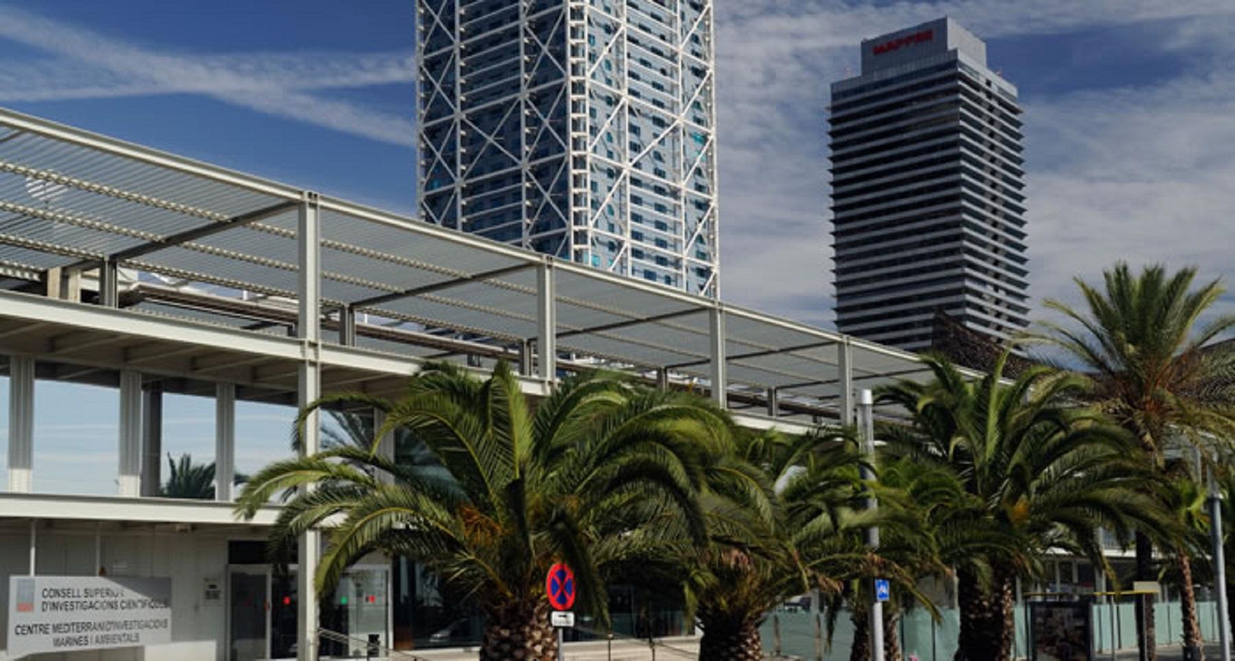 Sede del Instituto de Ciencias del Mar, en Barcelona./ ICM-CSIC