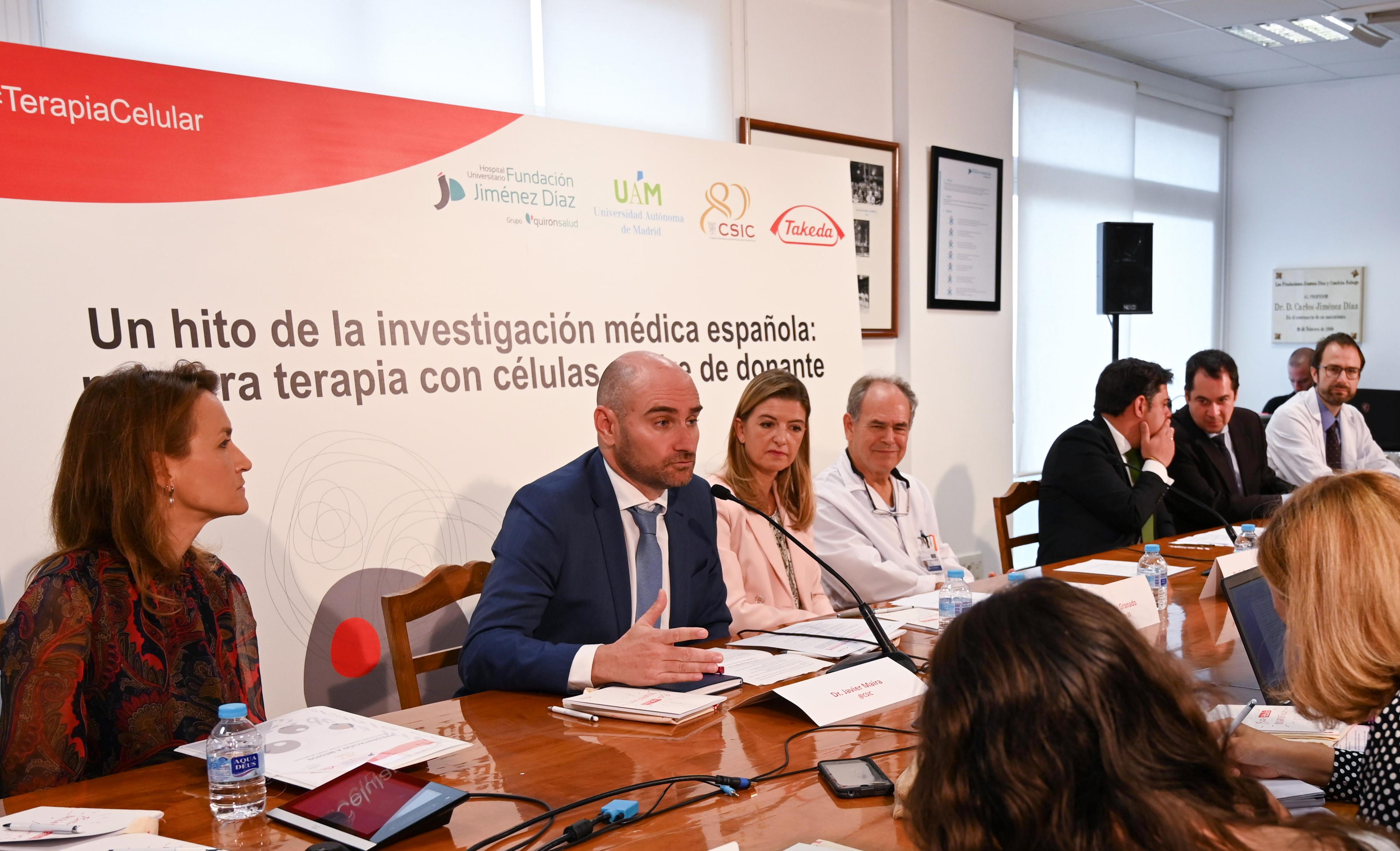 imagen de Presentación del lanzamiento del fármaco. / Yaiza González