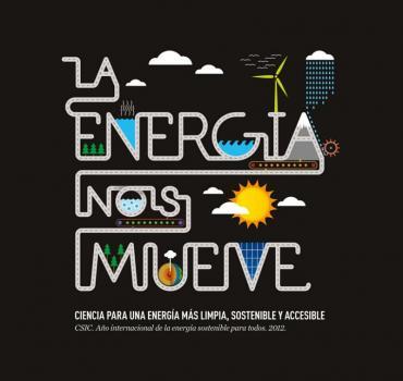 Cartel La energía nos mueve