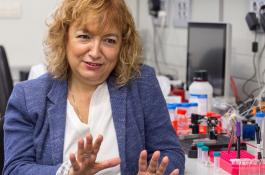 La investigadora del CSIC Laura Lechuga, en su laboratorio / ICN2