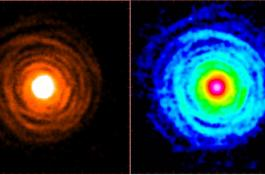 Envoltura circunestelar de la estrella evolucionada IRC+10216./IFF-CSIC