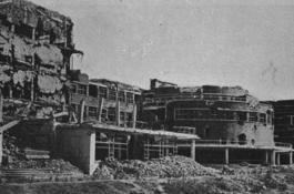 Ruinas de la Universidad Complutense 1939