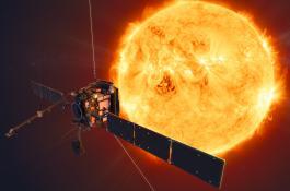 Concepción artística de la misión Solar Orbiter (ESA/ATG medialab)