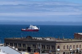 El buque 'Sarmiento de Gamboa' ha partido de Chile en dirección a la Antártida. / CSIC-UTM