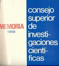 Portada Memoria 1968