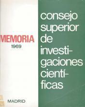 Portada Memoria 1969