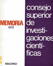 Portada Memoria 1972