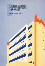 Portada Memoria 1991