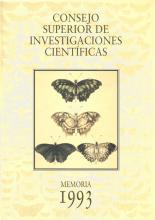 Portada Memoria 1993