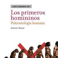 Cubierta Los primeros homininos. Paleontología humana