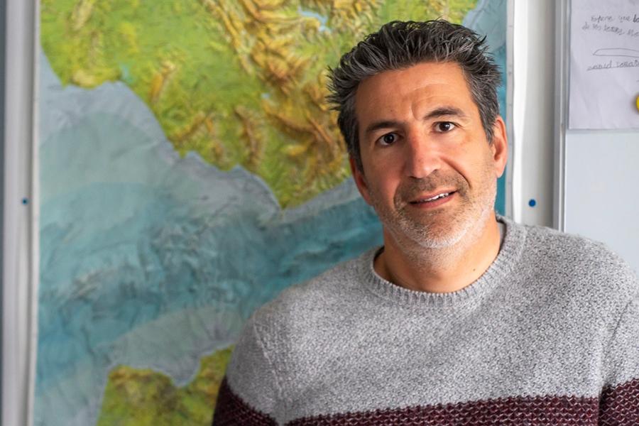 imagen de El investigador Antonio Tovar, del ICMAN-CSIC. / CSIC Comunicación