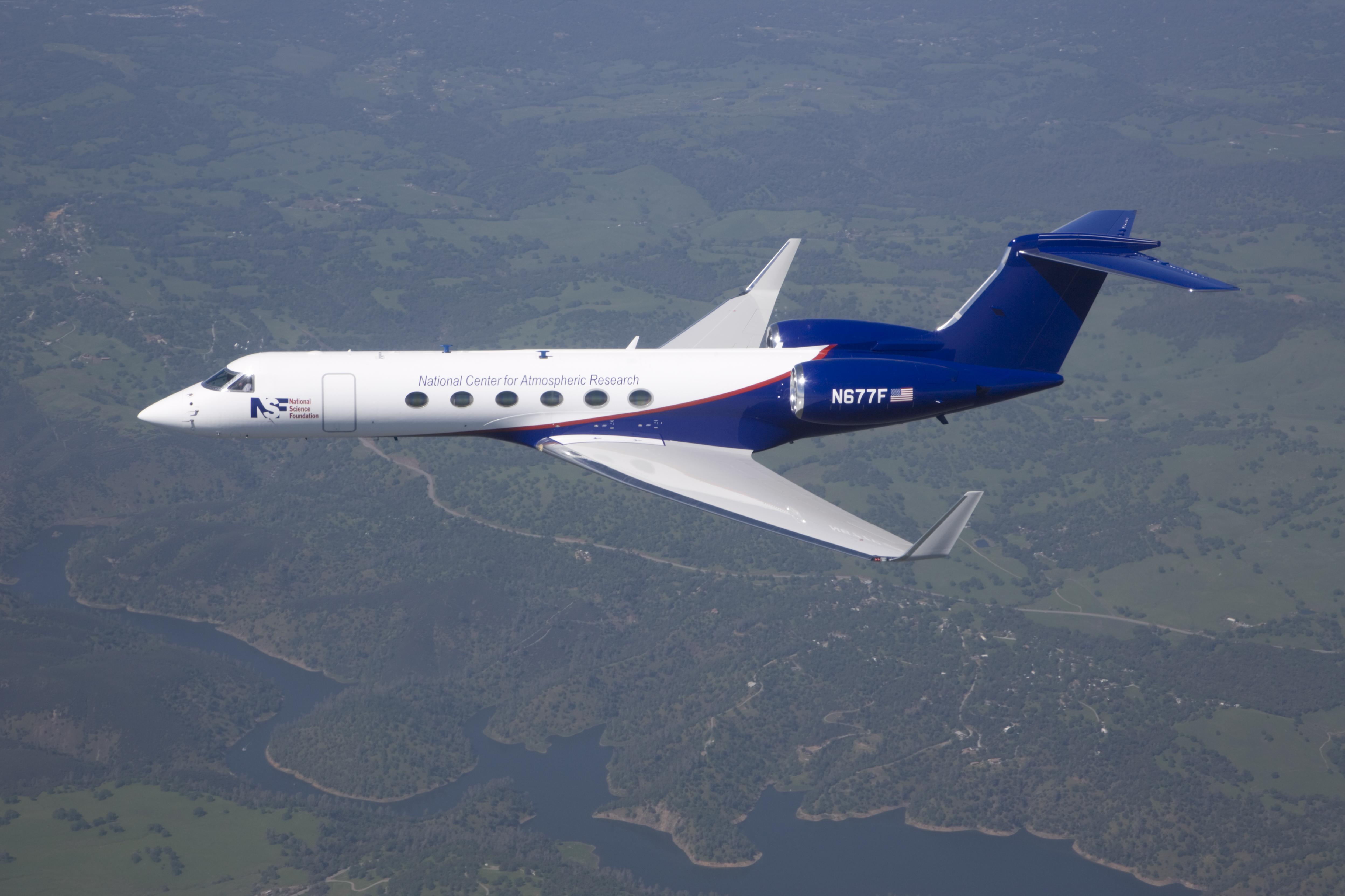 Avión Científico Gulfstream-V