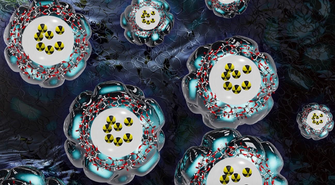 imagen de Dibujo de las nanopartículas desarrolladas en este trabajo. / IQM-CSIC