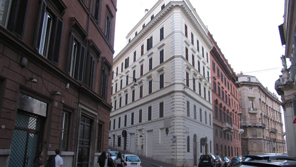 Residencia de la Escuela española de Historia y Arqueología en Roma