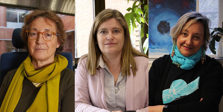 imagen de Mercedes García-Arenal, Susana Marcos y Ángela Nieto, Premios Nacionales de Investigación 2019. / CSIC