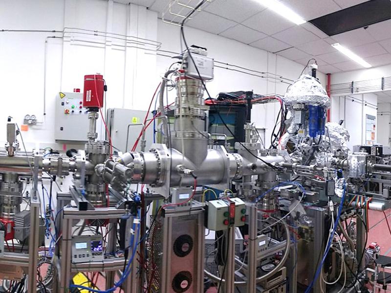 Máquina Stardust del proyecto Nanocosmos