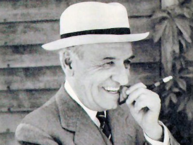imagen de El filósofo José Ortega y Gasset, en los años cuarenta. / Wikimedia