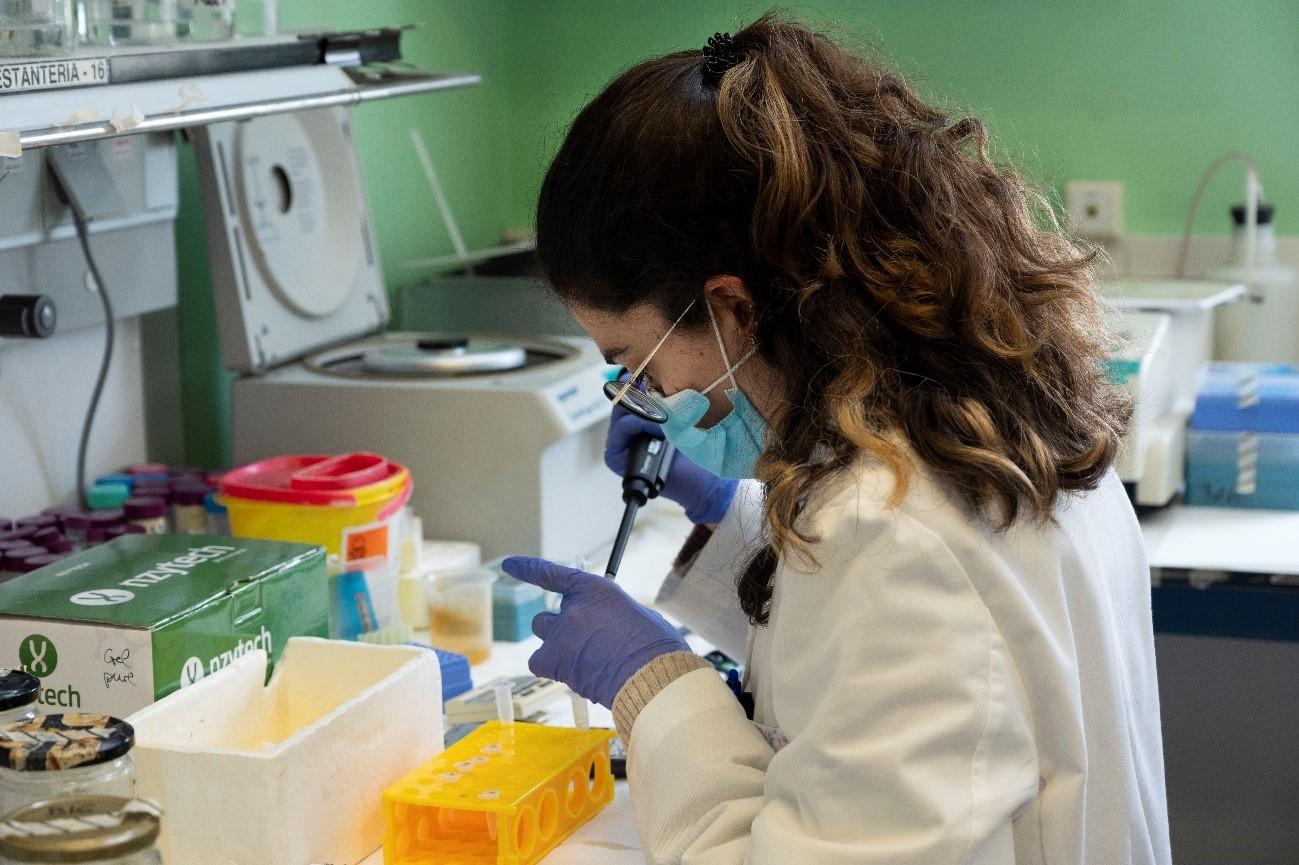 imagen de Laboratorio del CNB-CSIC. / César Hernández