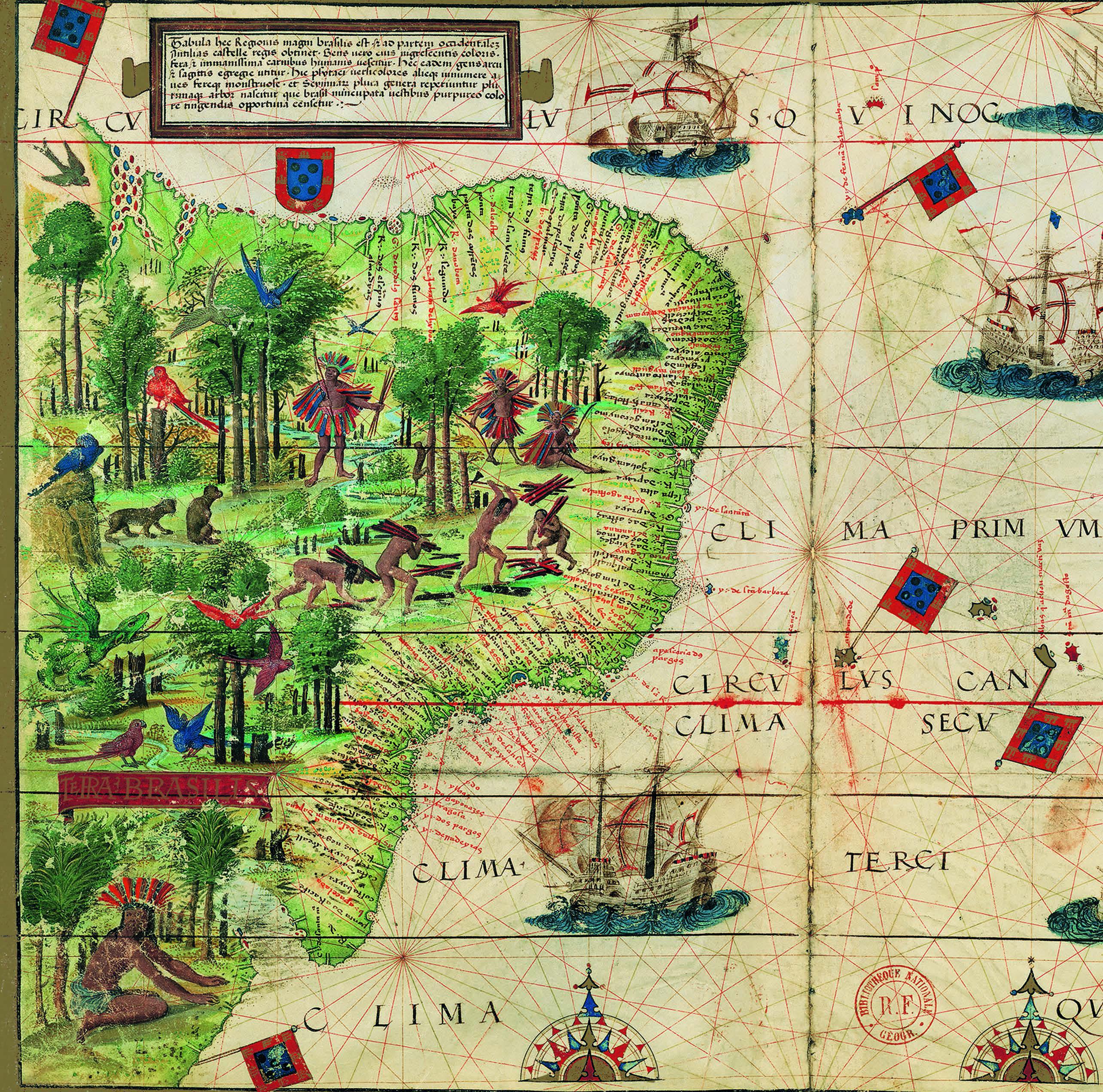 imagen de Imagen del mapa que forma parte de la portada del libro. / CSIC