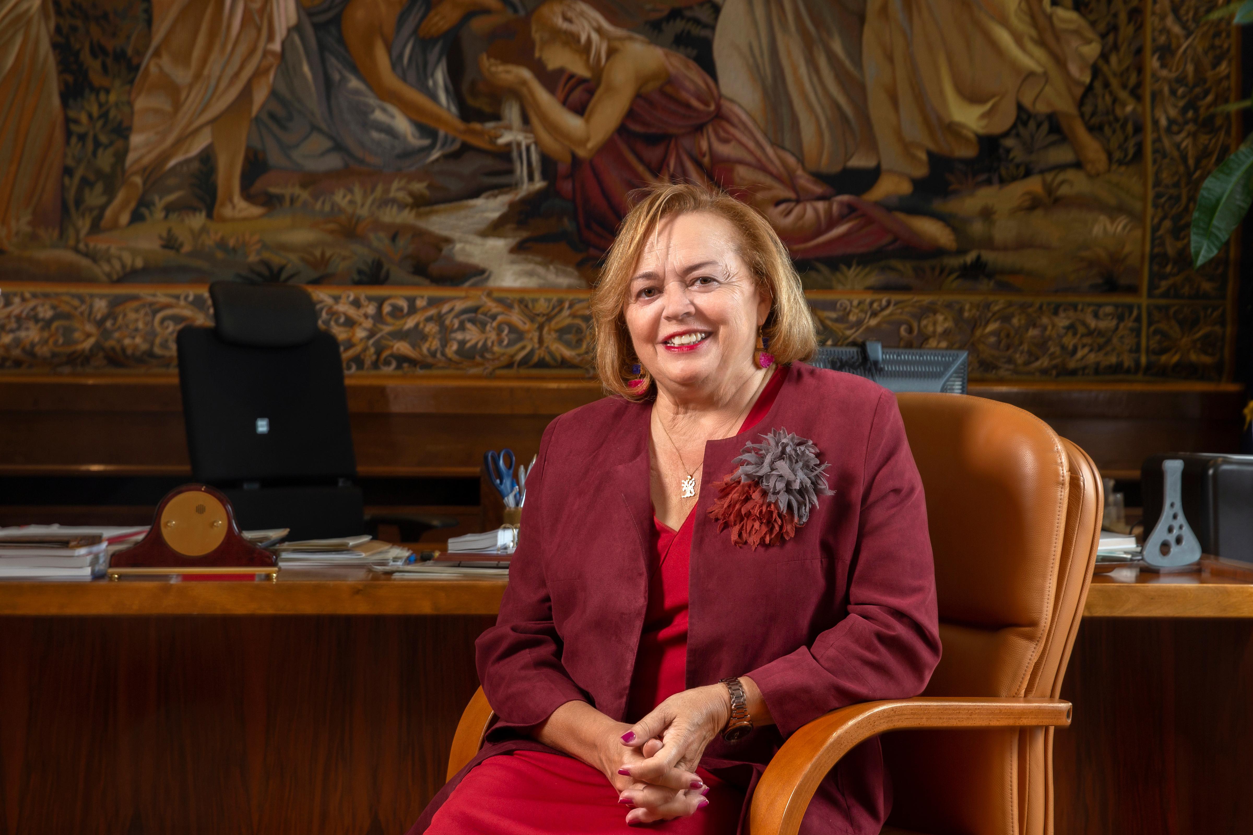 imagen de La presidenta del Consejo Superior de Investigaciones Científicas (CSIC), Rosa Menéndez. / Joan Costa CSIC Comunicación