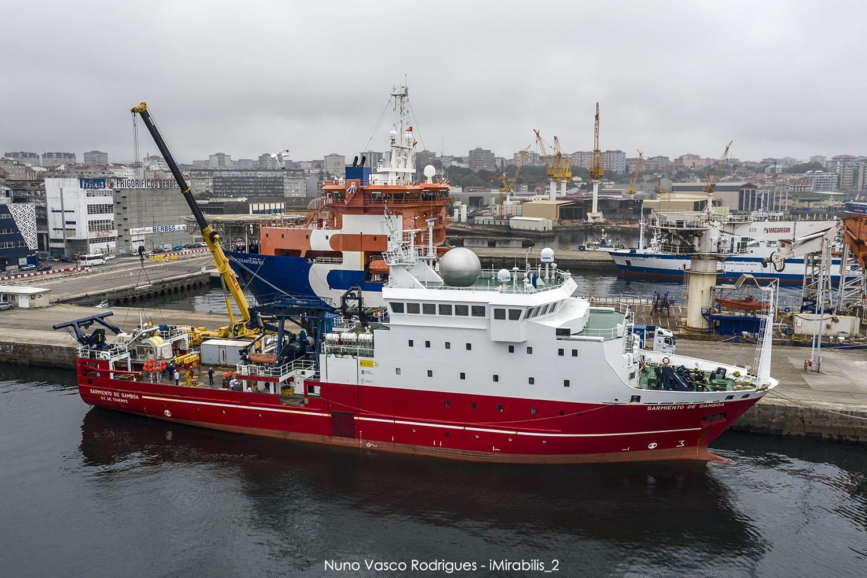 imagen de El buque Sarmiento de Gamboa estudiará ecosistemas profundos en el Atlántico. / Nuno Vasco Rodrigues